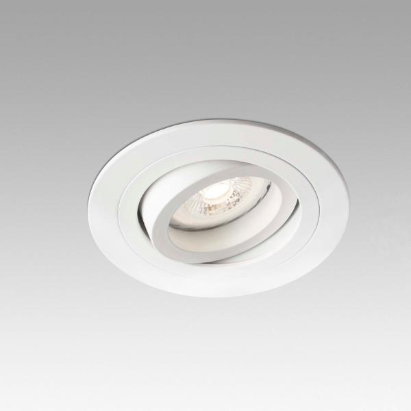 Empotrable Radon Faro Redondo Blanco 92mm