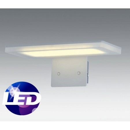 Aplique de pared blanco PURE LED.  SANTELICES