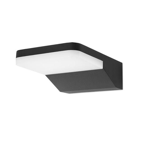 Aplique exterior Serenate Forlight - negro 1 luz LED