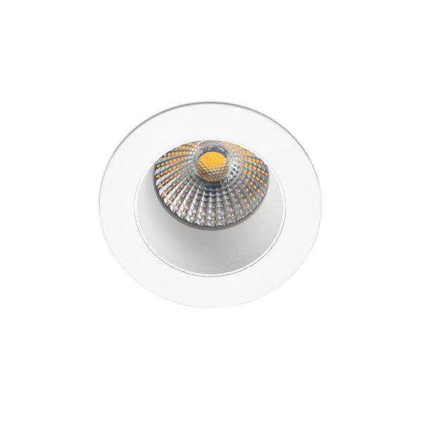 Empotrable LED Clear Faro - Aro blanco Ø 70mm IP 65