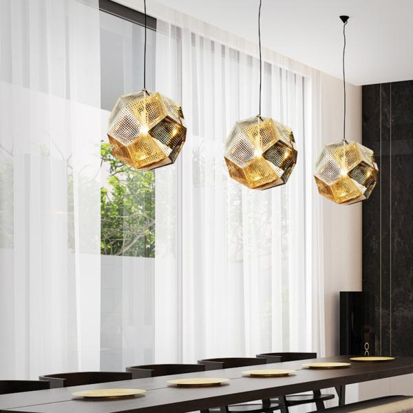 Lampara KELEKTRON - POLYHEDRON 1 Multi color luz LED